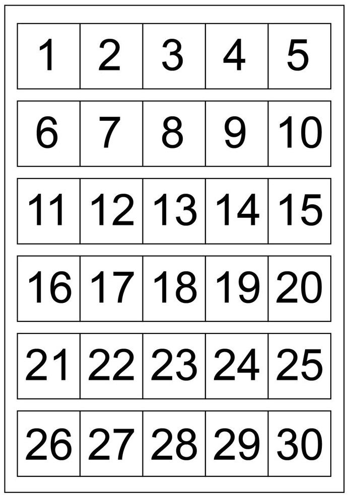 1-30 Schema