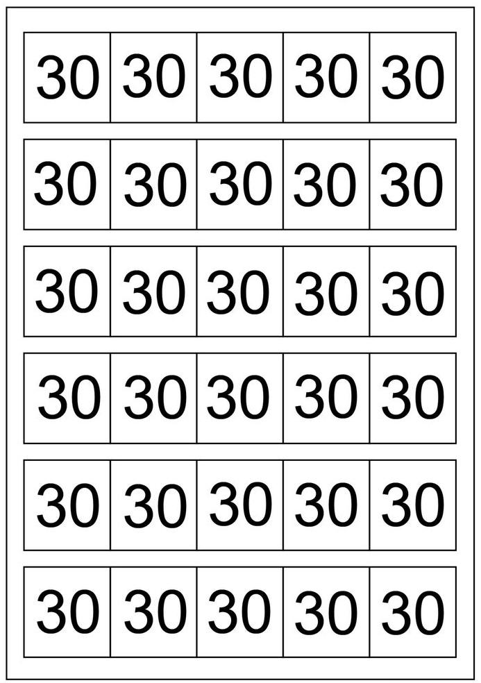 30-30 Schema